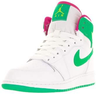 10348232f7c5 Jordan Nike Kids Air 1 Retro High GG Basketball Shoe 6 Kids US