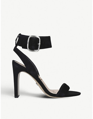 Sam Edelman Yola suede heeled sandals