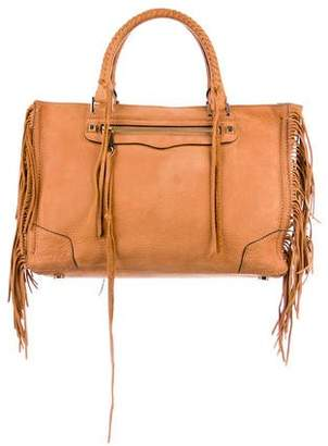 Rebecca Minkoff Leather Fringed Satchel