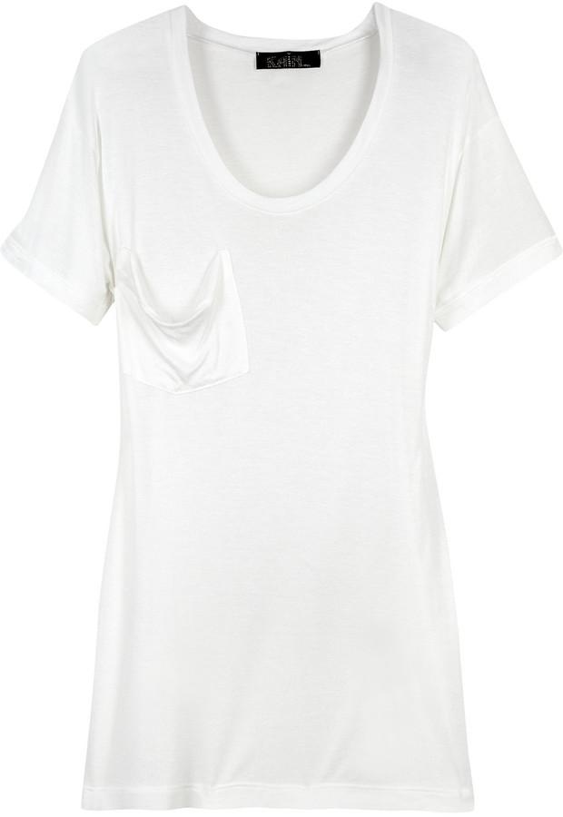 Kain Silk-blend T-shirt