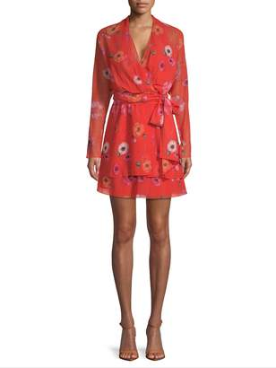 Camilla And Marc Women's Floral Wrap Dress