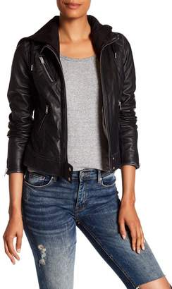 Andrew Marc Winona Leather Jacket $328 thestylecure.com