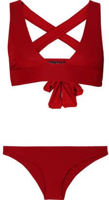 Haight - Multi-way Triangle Bikini - Red