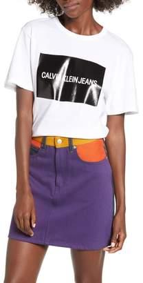 Calvin Klein Jeans Blocked Gel Logo Tee