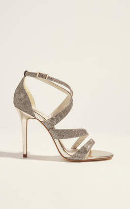Karen Millen Glitter Sandal