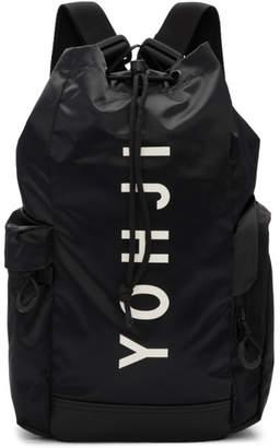 Y-3 Black Mini Yohji Letters Backpack
