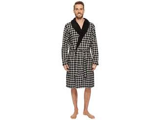 UGG Kalib Plaid Robe Men's Robe