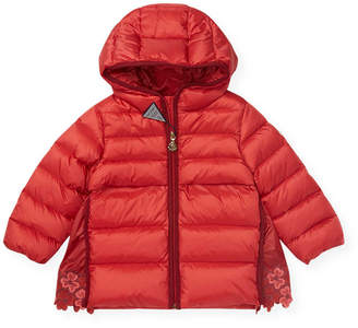 Moncler Hooded Quilt Down Jacket