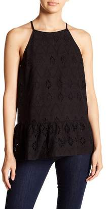 Doe & Rae Eyelet Tank Top