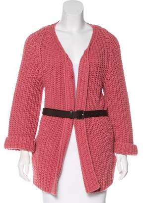 DSQUARED2 Virgin Wool Knit Cardigan