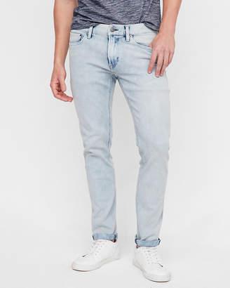 Express Skinny Light Wash 4 Way Stretch Jeans
