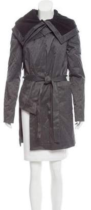 Kimberly Ovitz Asymmetrical Zip-Up Jacket