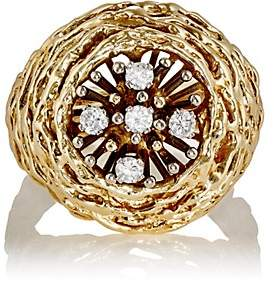 Mahnaz Collection Women's Nest Ring-Gold