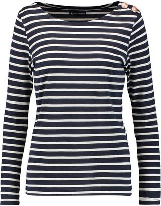 Petit Bateau Marini striped cotton-jersey top $105 thestylecure.com