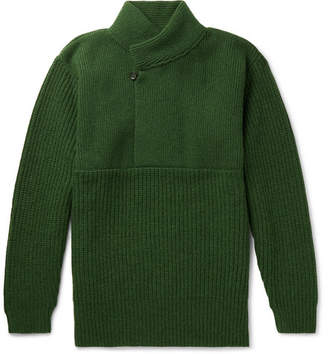 Oliver Spencer Mercantile Shawl-Collar Wool Sweater