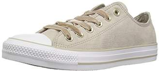 Converse Chuck Taylor All Star Velvet Low TOP Sneaker Papyrus/White