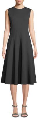 Lafayette 148 New York Topenga Sleeveless Dress in Punto Milano