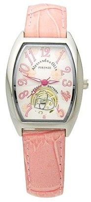 Alessandra Olla (アレッサンドラ オーラ) - [アレサンドラオーラ]Alessandra Olla 腕時計 フラワー柄文字盤 AO-4850-SVPK レディース