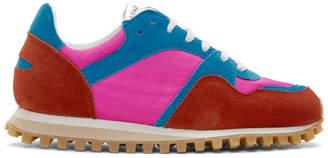 Comme des Garcons Pink Marathon Trail Sneakers