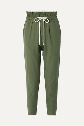 Bassike Dobby Cotton-blend Pants