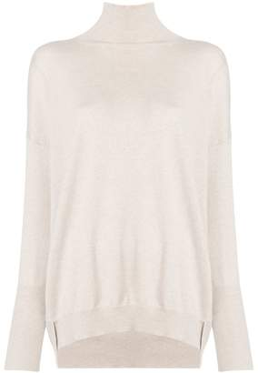 Agnona mock neck sweater