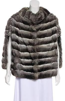 Couture Bisang Chinchilla Fur Cape