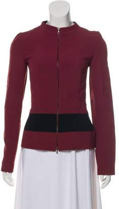 Narciso Rodriguez Zipper-Accented Evening Jacket
