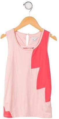 Little Marc Jacobs Girls' Coloblock Shirt