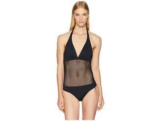 Vilebrequin Solid Net Fauve Swimsuit