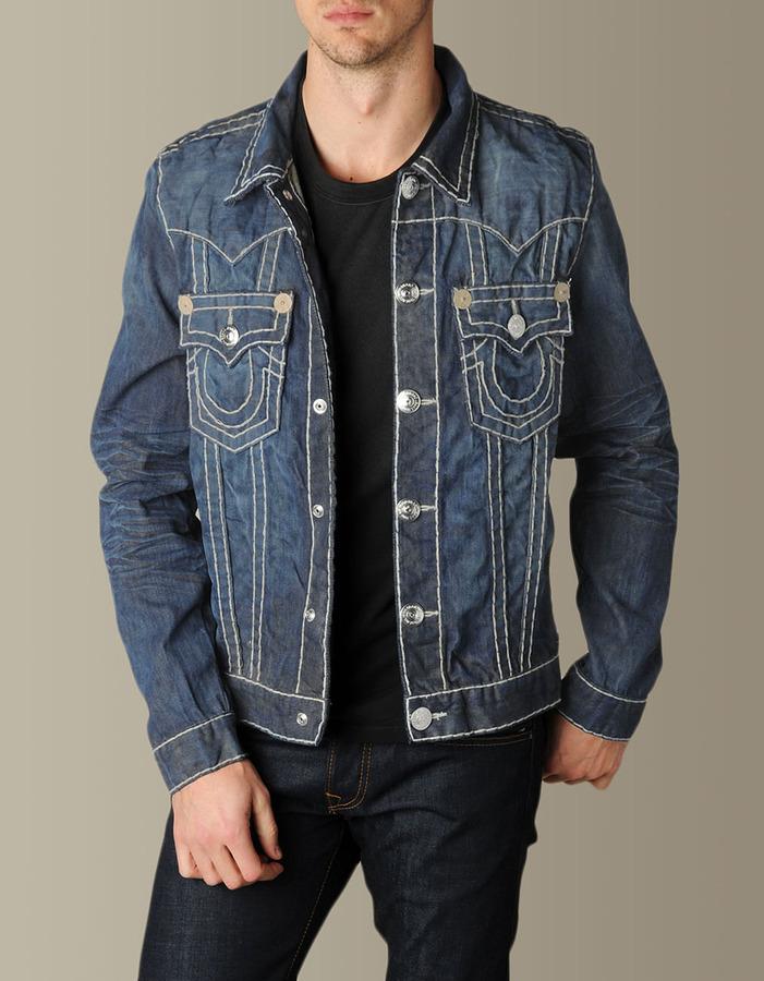 True Religion Mens Jimmy Super T Denim Jacket - (Collateral)