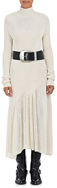 CALVIN KLEIN 205W39NYC Women's Cotton-Blend Sweater Maxi Dress