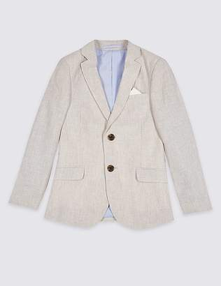 Marks and Spencer Cotton Blend Blazer (3-16 Years)