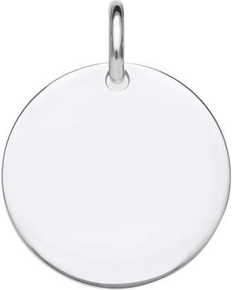 Thomas Sabo Love Bridge Disc sterling silver pendant