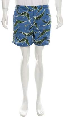 Valentino Printed Swim Trunks w/ Tags