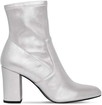 Steve Madden 90mm Actual Faux Metallic Leather Boots