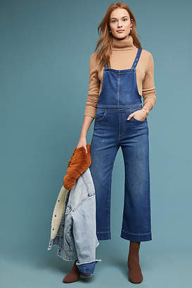 Mother The Greaser Cropped Overalls