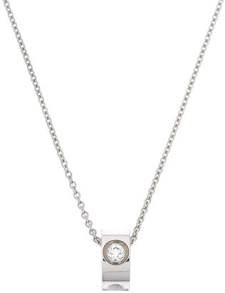 Louis Vuitton Empreinte Diamond Pendant Necklace - Vintage
