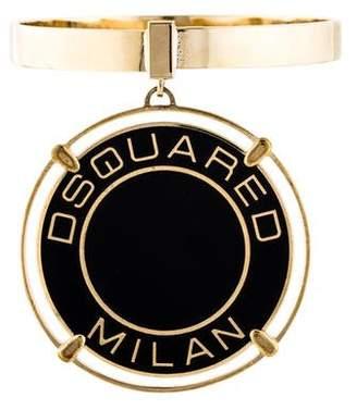 DSQUARED2 Enamel Medallion Bangle