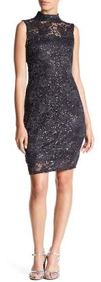 Marina Embellished Lace Dress (Petite)
