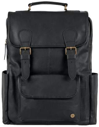Mahi Leather The City Backpack Ebony Black