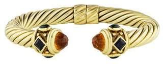 David Yurman 14K Multistone Renaissance Bracelet