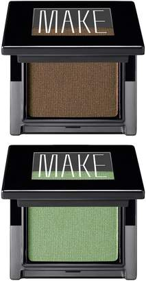 MAKE Satin Finish Eyeshadow Duo (Granite, Verdigris)