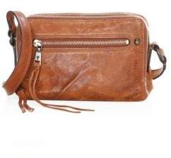 Frye Zip Leather Camera Bag