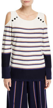 Nic+Zoe Spring Ahead Striped Top, Plus Size