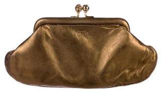 Anya Hindmarch Metallic Maud Clutch