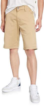 G Star G-Star Men's Bornson Straight-Leg Twill Shorts