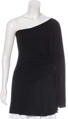 DSQUARED2 One-Shoulder Draped Tunic