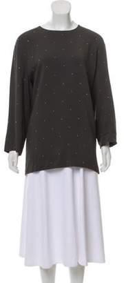 Stella McCartney Long Sleeve Embellished Top w/ Tags gold Long Sleeve Embellished Top w/ Tags