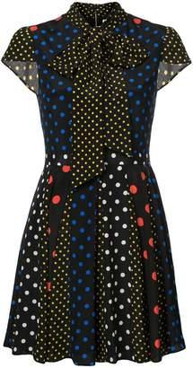 Alice + Olivia Alice+Olivia polka-dot flared dress