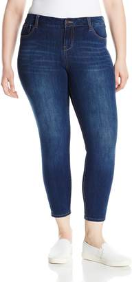 Celebrity Pink Jeans Women's Plus Size Stretch Ankle Skinny Jeans